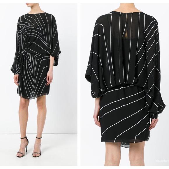 cb1428e44af Saint Laurent Star Print Asymmetric Mini Dress. M_5ad5280da44dbe900e603c02